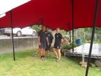Schupepe provides super shelter!
