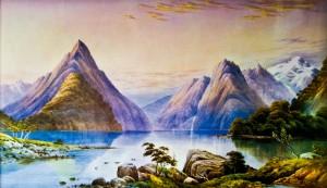 Mitre Peak by John Barr Clarke Hoyte