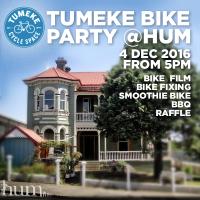 Tumeke Bike Party Fundraiser