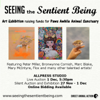 Art Auction - Animals - Seeing The Sentient Being